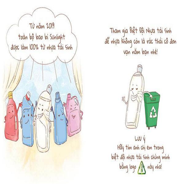hành trình tái sinh của chai nhựa